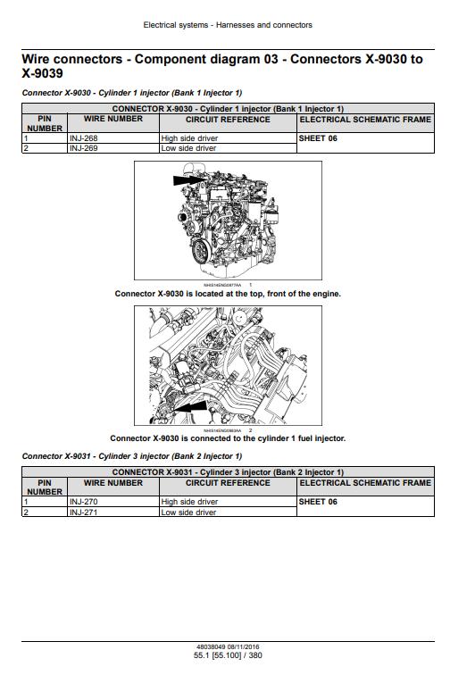 new holland B95CLR repair manual pdf