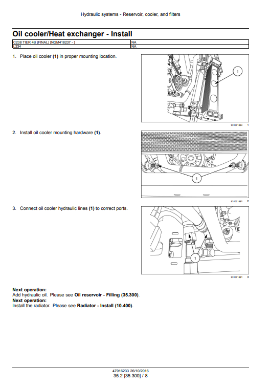 new holland C238 service manual pdf 1