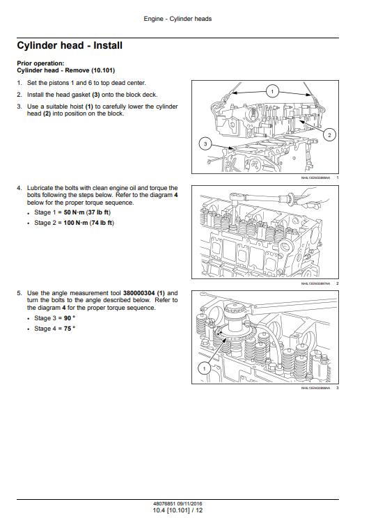 new holland Cursor9 manual pdf 1