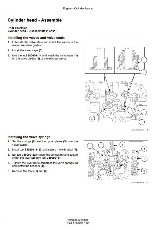 new holland Cursor9 manual pdf