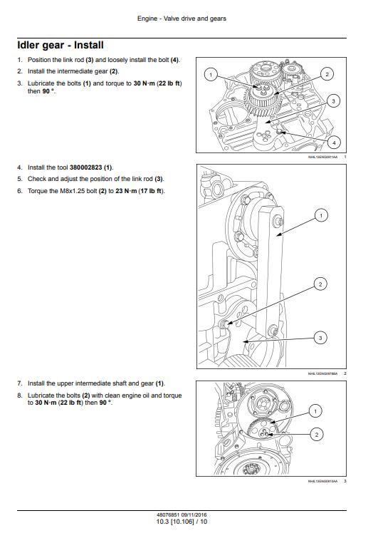 new holland Cursor9 repair manual pdf 1
