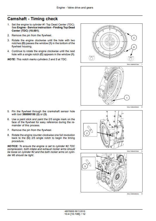 new holland Cursor9 service manual pdf