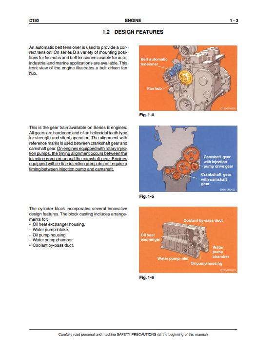 new holland D150 repair manual