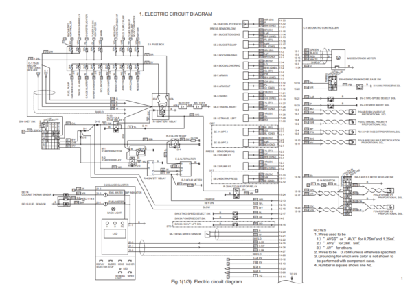 new holland E235SR service manual
