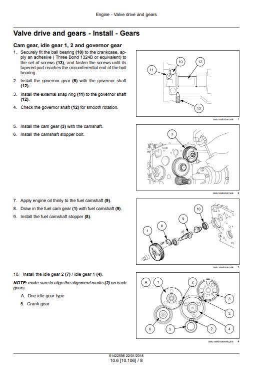 new holland E26C manual