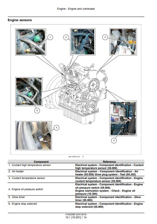 new holland E26C repair manual