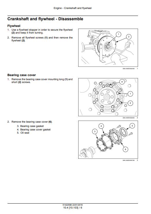 new holland E26C service manual
