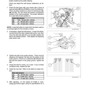 New Holland E37C Mini Excavator Service Manual