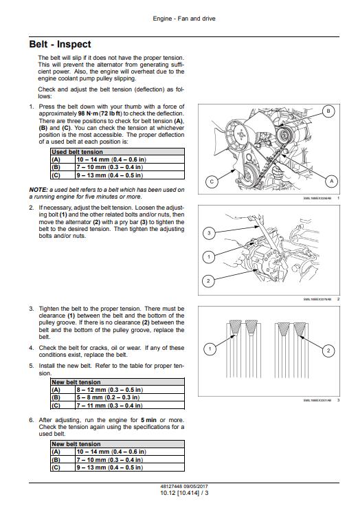 new holland E37C manual