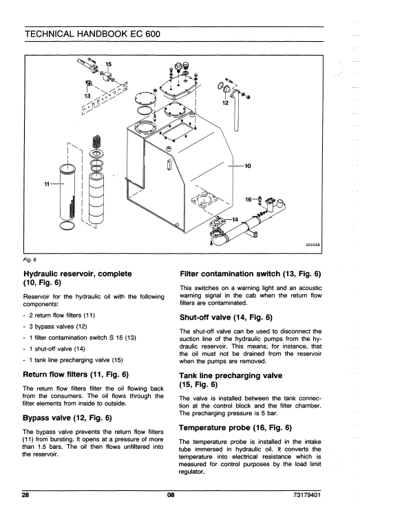 new holland EC600 repair manual