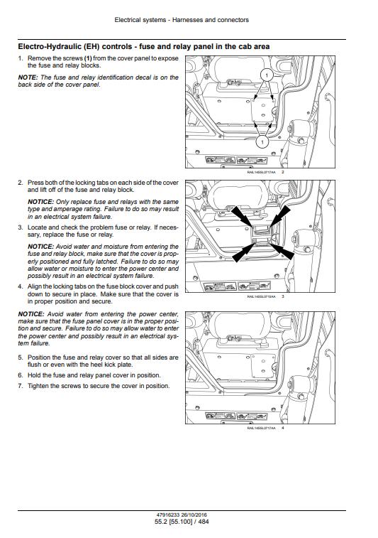 new holland L234 C238 repair manual pdf 1