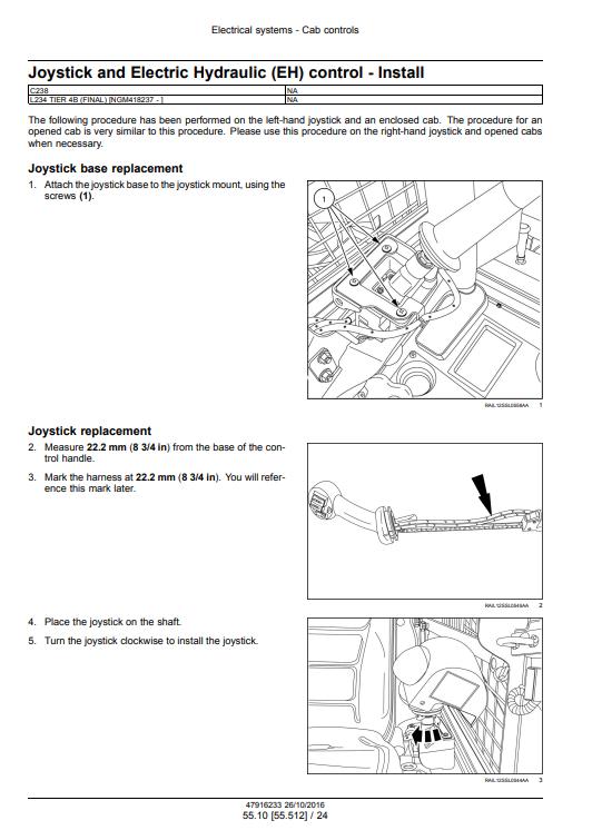 new holland L234 C238 repair manual pdf 2