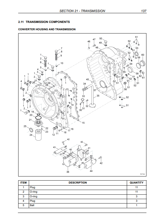 new holland LB115.B repair manual