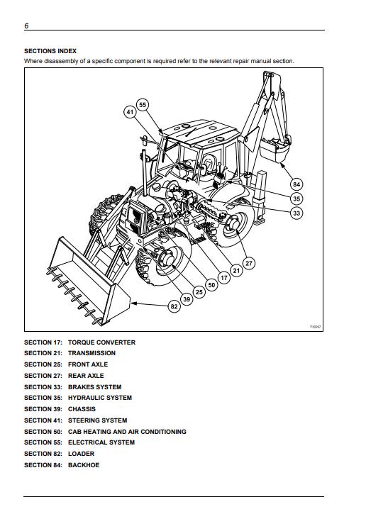 new holland LB90.B repair manual
