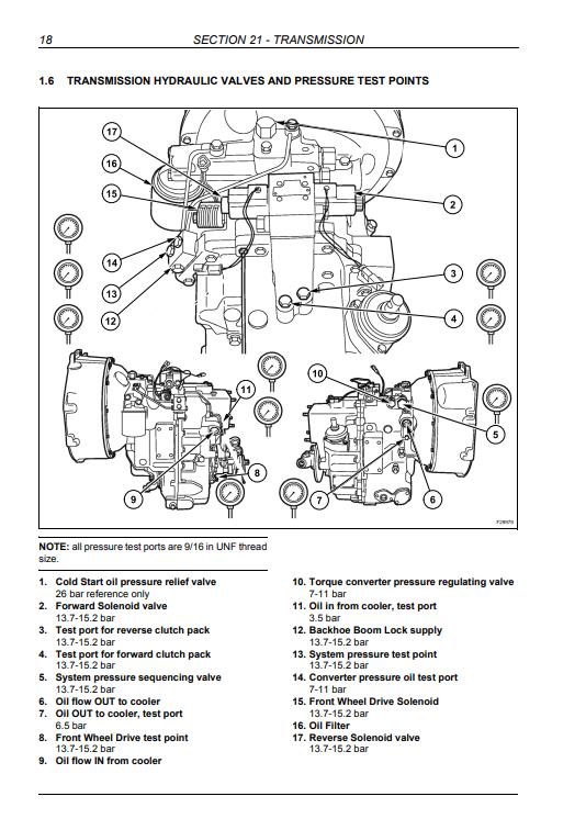 new holland LB95.B repair manual