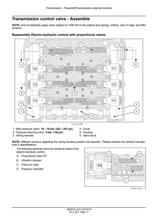 new holland W110D manual