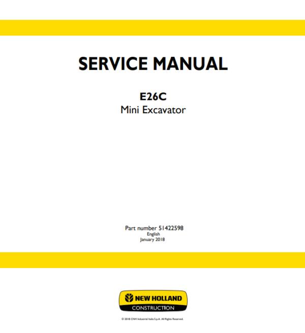 new holland repair manual 12