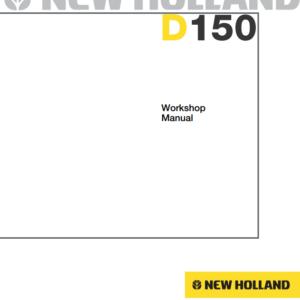 New Holland D150 dozer Workshop Manual