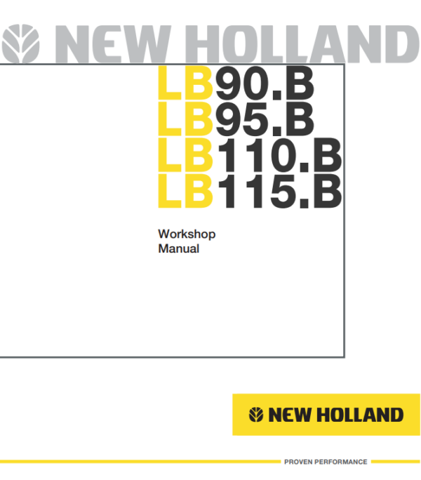 new holland repair manual 16