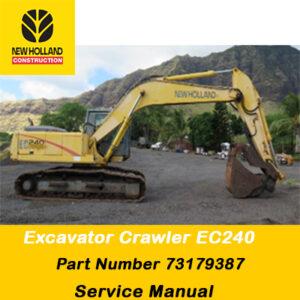 New Holland EC240 Excavator Service Manual