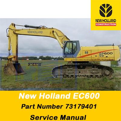 New Holland Service Manual