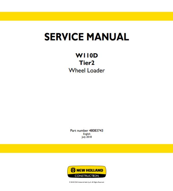 new holland repair manual 8