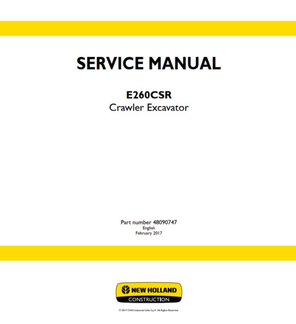 new holland repair manual 9