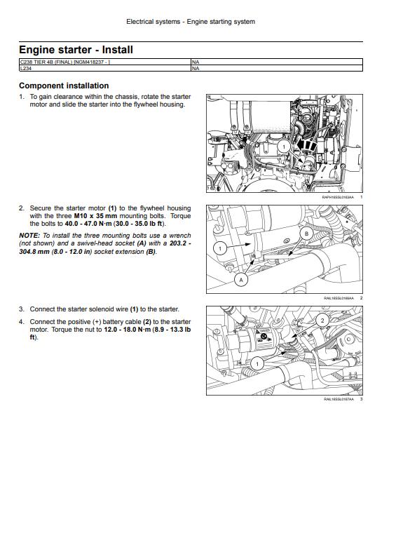new holland service manual 3