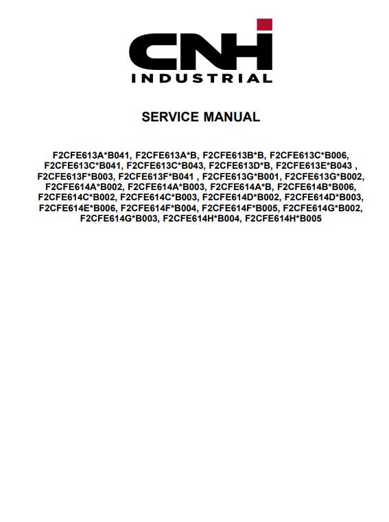 new holland service manual 6