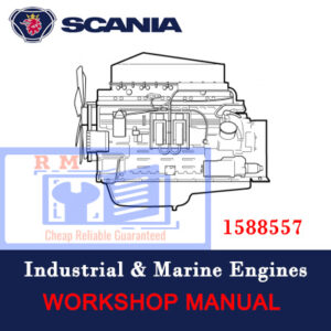 Scania 12 Engine (1588557) Workshop Manual