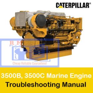 Caterpillar 3500B, 3500C Marine Engine Troubleshooting Manual