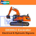 Doosan DX300LC Electrical & Hydraulic Diagrams