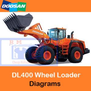 Doosan DL400 Wheel Loader Electrical & Hydraulic Diagrams