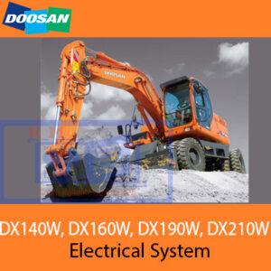 Doosan DX140W, DX160W, DX190W, DX210W Electrical System