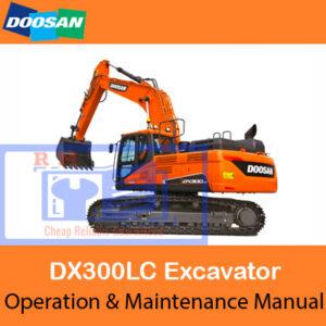 Doosan DX300LC Excavator Operation and Maintenance Manual