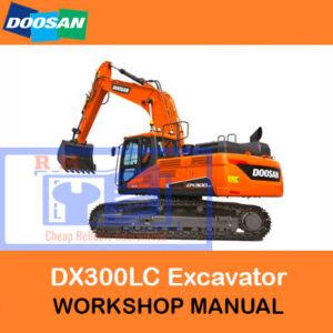 Doosan DX300LC Excavator Workshop Manual