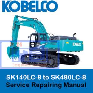 Kobelco SK140LC-8 to SK480LC-8 Service Repairing Manual
