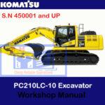 Komatsu PC210LC-10 Excavator Workshop Manual