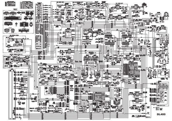 doosan dl400 Electrical diagram