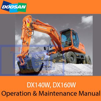 doosan dx160w 1