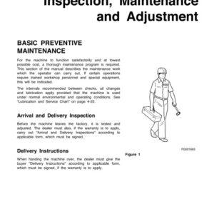 Doosan DL400 Wheel Loader Maintenance and Agestment Manual