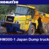 komatsu dump truck
