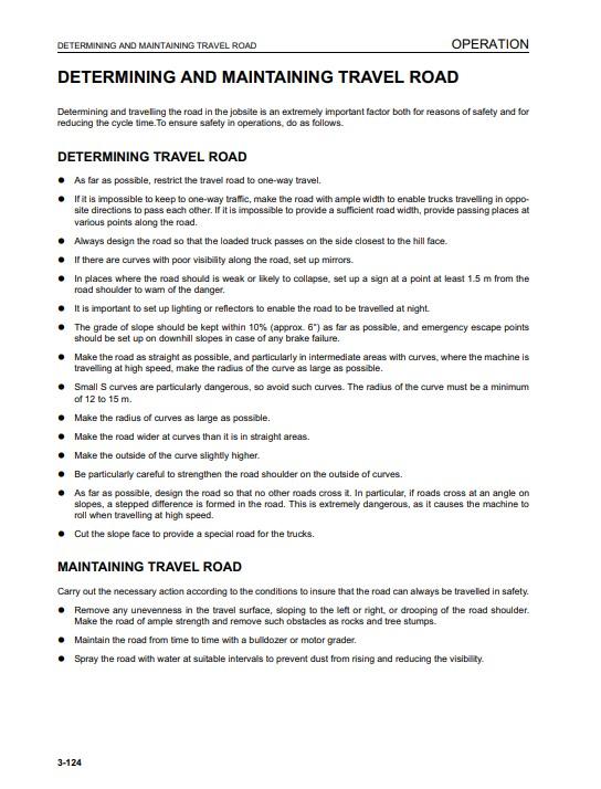 komatsu manuals