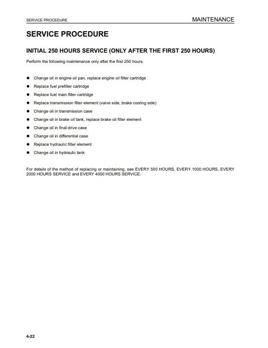 komatsu repair manual